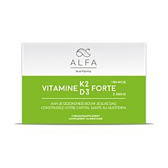 Alfa Vitamine K2 D3 Forte 30 Softgels
