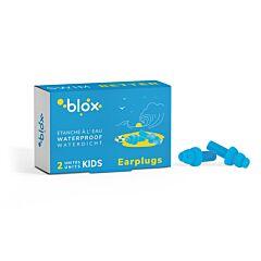 Blox Aquatique Bouchons dOreille Piscine Enfant 1 Paire + Boîte de Rangement en Plastique