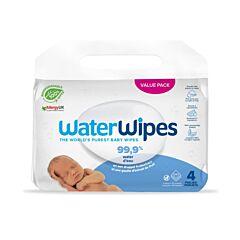 WaterWipes Lingettes Bébés Biodégradables 240 Pièces