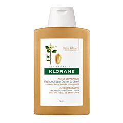 Klorane Nutri-Réparation Shampooing au Dattier du Désert Cheveux Secs Flacon 400ml