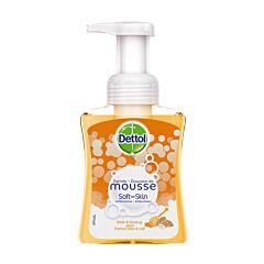 Dettol Soft on Skin Savon Antibactérien Miel & Lait Flacon Pompe 250ml