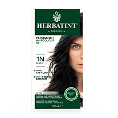 Herbatint Soin Colorant Permanent Cheveux 1N Noir Flacon 150ml