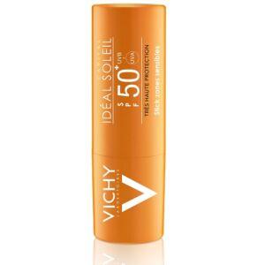 Vichy Idéal Soleil Stick Zones Sensibles IP50+ 9g