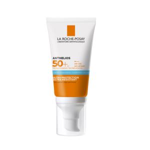 La Roche-Posay Anthelios Crème Solaire Hydratante Sans Parfum IP50+ Tube Pompe 50ml