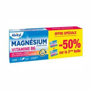 Alvityl Magnésium Vitamine B6 45 Comprimés PROMO 2ème -50%