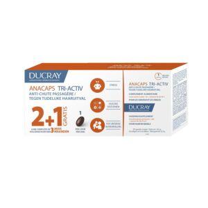 Ducray Anacaps Tri-Activ PROMO 2+1 GRATUIT (3x30 Gélules)