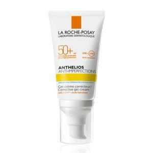 La Roche-Posay Anthelios Anti-Imperfections Gel-Crème Correcteur Sans Parfum IP50+ Tube Pompe 50ml