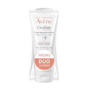 Avène Cicalfate Crème Mains Réparatrice Isolante Tube PROMO 2x100ml