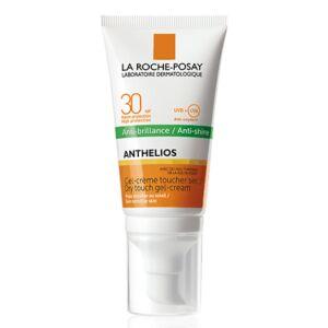 La Roche-Posay Anthelios Anti-Brillance Gel-Crème Toucher Sec Avec Parfum IP30 Tube Pompe 50ml