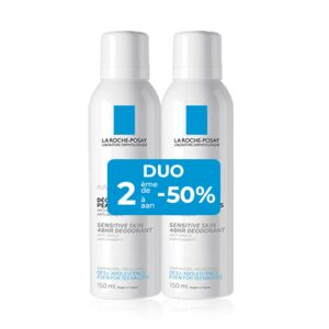 La Roche-Posay Déodorant 48h Peaux Sensibles Spray PROMO Duo 2x150ml