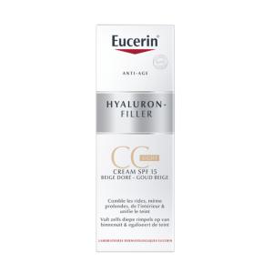 Eucerin Hyaluron-Filler CC Crème Light Beige Doré 50ml