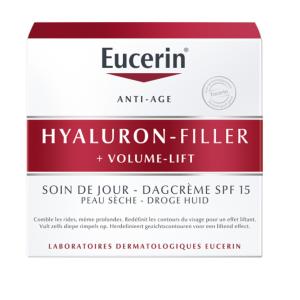 Eucerin Hyaluron-Filler + Volume-Lift Crème de Jour Peau Sèche Pot 50ml