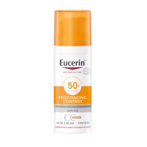 Eucerin Sun Photoaging Control CC Crème Teintée Medium IP50+ Flacon Airless 50ml