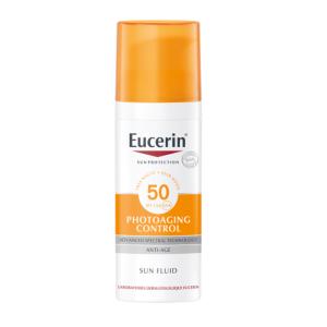 Eucerin Sun Photoaging Control Fluide Anti-Âge IP50+ Flacon Airless 50ml