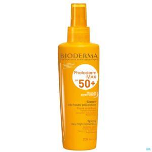 Bioderma Photoderm Max Spray Peaux Sensibles IP50+ Spray 200ml