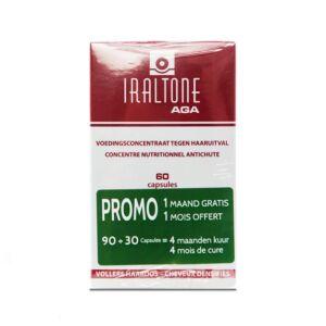 Iraltone AGA Chute Capillaire Chronique PROMO 2x60 Gélules NF