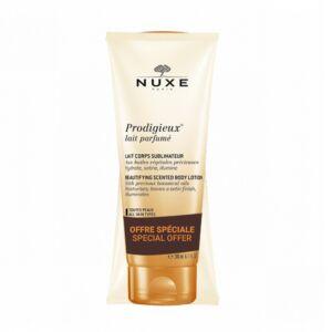 Nuxe Prodigieux Lait Parfumé Corps Sublimateur Tube PROMO 2x200ml