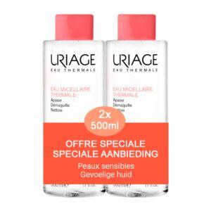 Uriage Micellair Water - Gevoelige Huid 500ml Promo 1+1 GRATIS