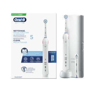 Oral-B Brosse à Dents Electrique Nettoyage, Protection & Aide au Brossage Professionnels 5 - 1 Pièce
