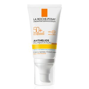 La Roche-Posay Anthelios Pigmentation Crème Teintée Sans Parfum IP50+ Tube Pompe 50ml