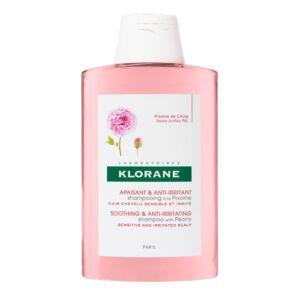 Klorane Apaisant & Anti-Irritant Shampooing à la Pivoine Cuir Chevelu Sensible & Irrité Flacon 400ml