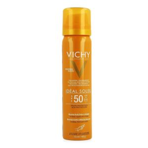 Vichy Idéal Soleil Brume Fraîche Visage IP50 Spray 75ml