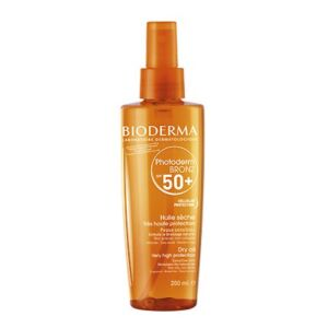 Bioderma Photoderm Bronz Huile Sèche IP50+ Spray 200ml