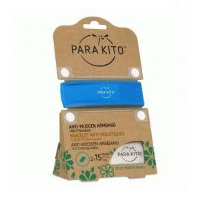 Parakito Bracelet Bleu Anti-Moustiques + 2 Recharges