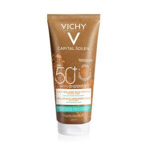 Vichy Capital Soleil Lait Solaire Eco-Conçu Visage & Corps IP50+ Tube 200ml