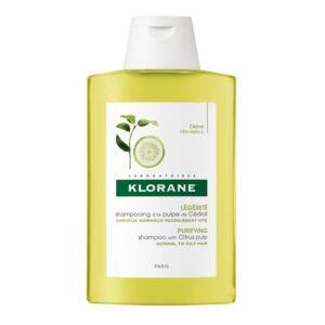 Klorane Légèreté Shampooing à la Pulpe de Cédrat 400ml