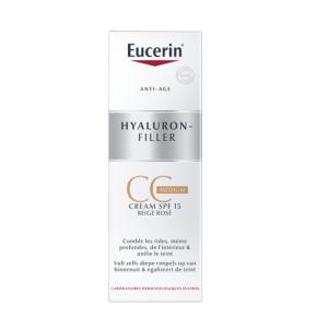 Eucerin Hyaluron-Filler CC Crème Medium Beige Rosé 50ml