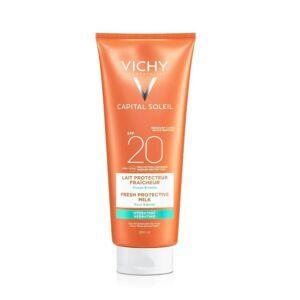 Vichy Capital Soleil Lait Protecteur Fraîcheur Visage & Corps IP20 Tube 300ml