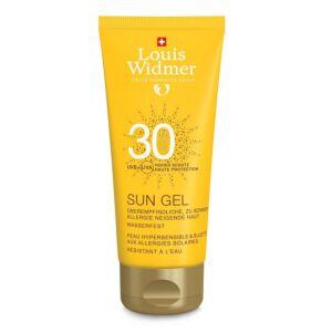 Louis Widmer Sun Gel IP30 Sans Parfum Tube 100ml