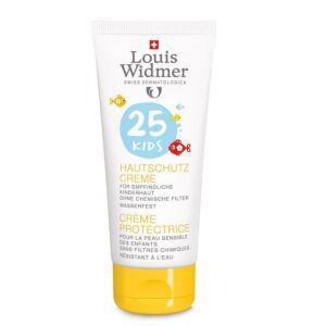 Louis Widmer Sun Kids Crème Protectrice IP25 Sans Parfum Tube 100ml