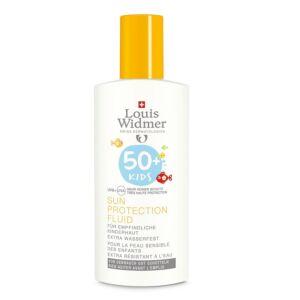 Louis Widmer Sun Kids Protection Fluide IP50+ Sans Parfum Flacon 100ml