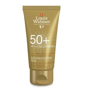 Louis Widmer Sun Protection Face IP50+ Avec Parfum Tube 50ml