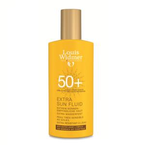 Louis Widmer Extra Sun Fluid Fluide IP50+ Sans Parfum Flacon 100ml