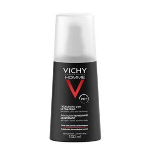 Vichy Homme Déodorant Ultra-Frais Spray 100ml