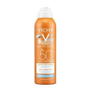Vichy Idéal Soleil Brume Anti-Sable Enfants IP50+ Spray 200ml