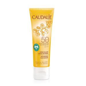 Caudalie Crème Solaire Visage Anti-Rides IP50 Tube 50ml