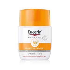 Eucerin Sun Sensitive Protect Kids Enfants Fluide IP50+ Pocket 50ml