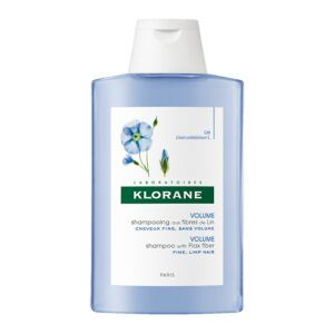 Klorane Volume Shampooing aux Fibres de Lin Flacon 400ml