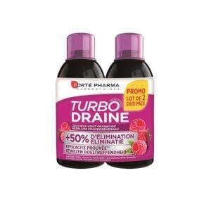 Forté Pharma TurboDraine Framboise Flacon PROMO Duo 2x500ml