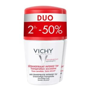 Vichy Déodorant Stress Resist Transpiration Excessive 72h Roll-On PROMO Duo 2x50ml