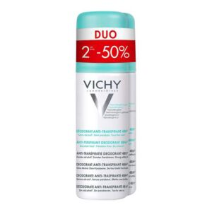 Vichy Déodorant Anti-Transpirant 48h Spray PROMO Duo 2x125ml