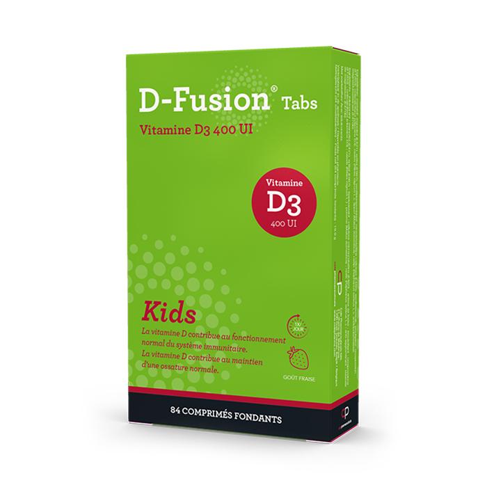 Image of D-Fusion Kids 400IE 84 Smelttabletten