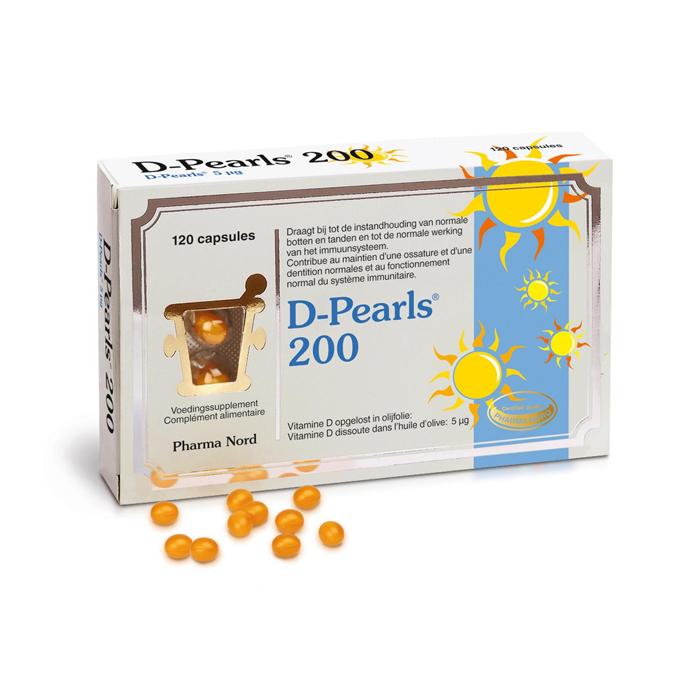 Image of Pharma Nord D-Pearls 200 120 Capsules