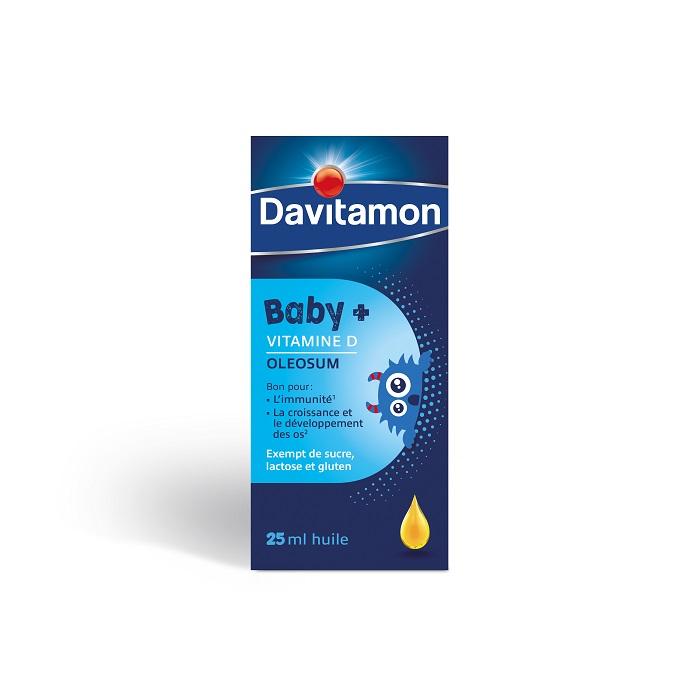 Image of Davitamon Baby+ Vitamine D Oleosum Olie 25ml