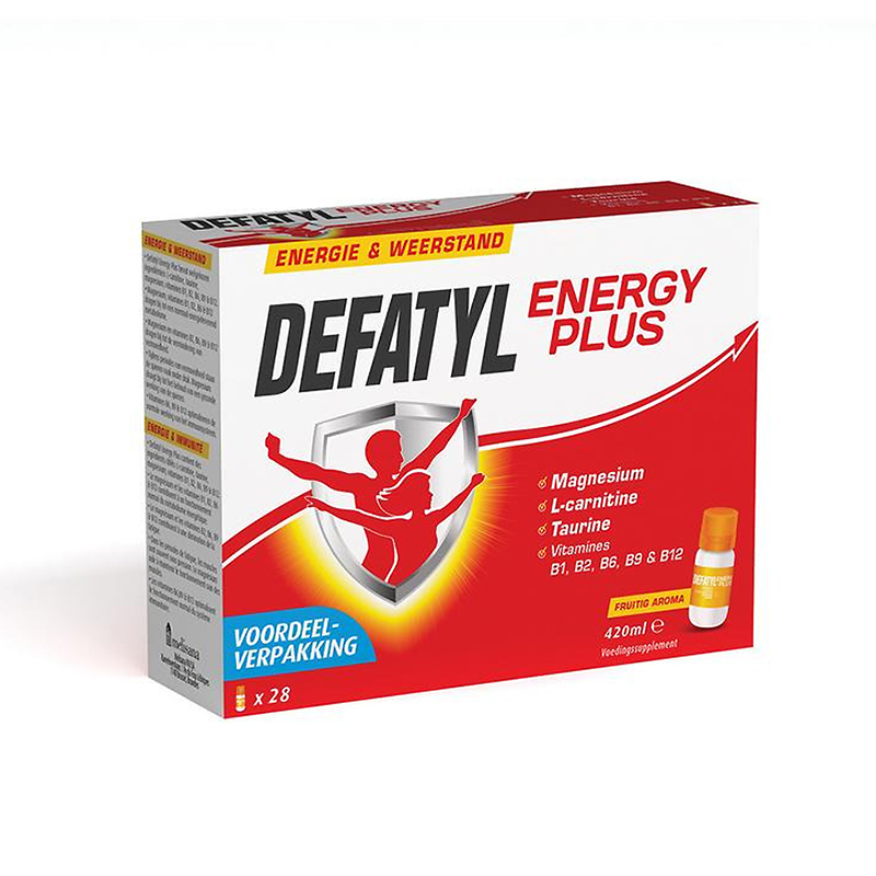 Image of Defatyl Energy Plus 28 Flesjes
