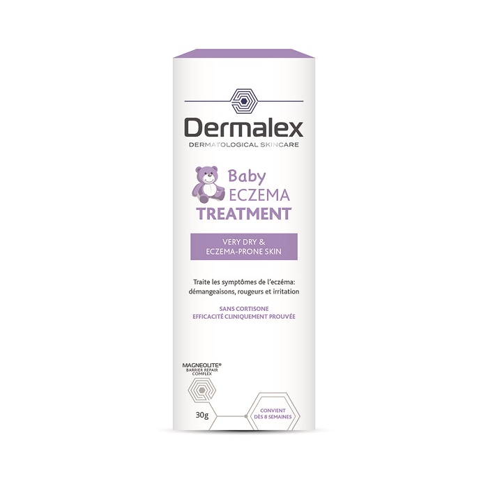 Image of Dermalex Baby Atopisch Eczeem Behandeling Crème 100g